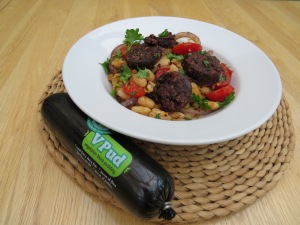 Our Lizzy's V Pud with Cannelini Beans