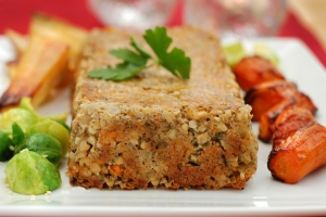 Carrot and Cashew Nut Roast by Our Lizzy