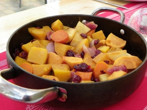 Root Vegetables cooked in Malvern Gold by Our Lizzy